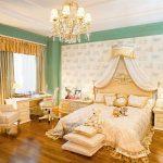 Декор и дизайн спальни в стиле ампир