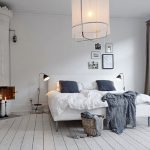 Дизайн спальни в популярном скандинавском стиле