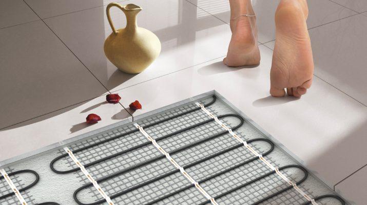 Электрический теплый пол для создания комфорта в спальне