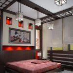 Философия японского стиля интерьера в спальне
