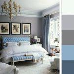 Идея декора спальни в серой палитре