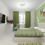 Использовать ли зеленый цвет в спальне