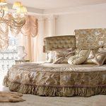 Изысканный интерьер спальни с помощью стиля барокко