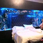 Как использовать аквариум в спальне