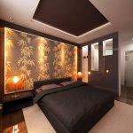 Как создать оригинальное комбинированное освещение в спальне