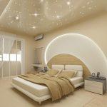 Как создать освщение спальни