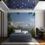 Как создать светлую синюю спальню