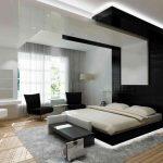 Как выполнить красивый стиль модерн в спальне