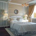 Кантри дизайна спальни