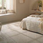 Керамический противоскользящий пол для спальни