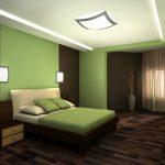 Комбинируем осветительные приборы в спальне