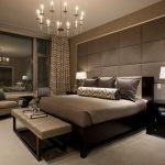 Коричневая спальня