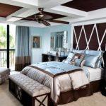 Коричневые цвета для обустройства спальни