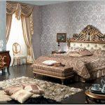 Королевский стиль барокко для вашей спальни