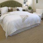 Ковровый противоскользящий пол для комфорта спальни