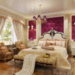 Красивая спальня ампир