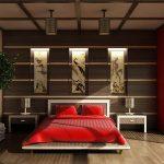Как оформить спальню в японском стиле своими руками
