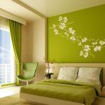 Красивый оттенок зеленого для спальни