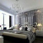 Красота стиля модерн в спальне