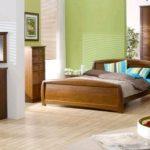 Линолеум, уложенный в спальне