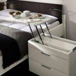 Многофунуциональная тумбочка для спальни