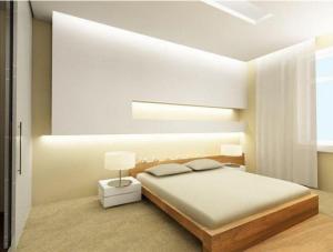 Отличный потолок светлого оттенка