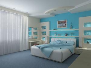 Практичная и удобная спальня