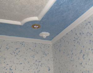 Красивое обрамление потолка