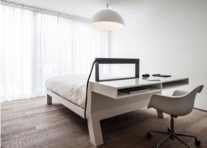 Удобная практичная спальня