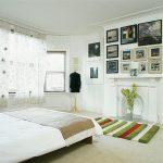 Небольшие аксессуары для стен спальни