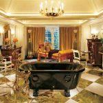 Необычное оформление спальни в стиле ампир