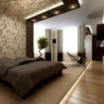 Несколько способов для зонирования спальной комнаты