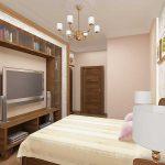Нюансы размещения современного телевизора в спальне