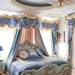 Оформление интерьера спальни в средневековом стиле ренессанс
