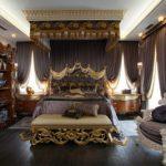 Оформление спальни барокко