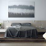 Оформляем интерьер спальни с использованием серого цвета