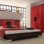 Оформляем красную спальню