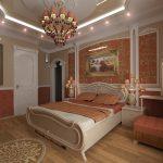 Оформляем спальню в изысканном стиле ампир