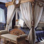 Основные черты стиля ампир на примере спальни