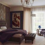 Особенности применения коричневого цвета в спальне