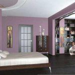 Отделка спальни в стиле модерн