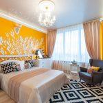 Почему стоит выбрать желтую спальню