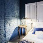 Покраска пола в спальне