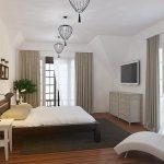 Практичное оформление спальни в скандинавском стиле