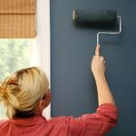 Правила как красить стены