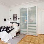 Правила оформления скандинавского стиля в спальне