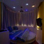 Применение проекции звездного неба в спальне