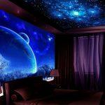 Пример звездного неба в спальне
