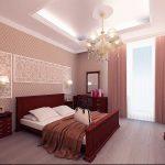 Привлекательная люстра в спальню