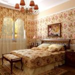 Привлекательный и домашний стиль кантри для спальни